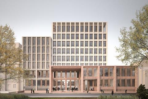 Team F - LSE Paul Marshall Building